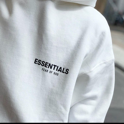 FEAR OF GOD Essentials Photo Series Hoodie White
