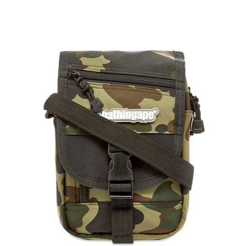 BATHING APE Camo Shoulder Bag