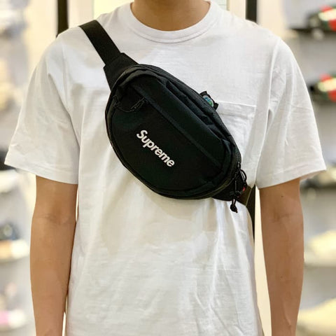 Supreme Waist Bag Black FW18