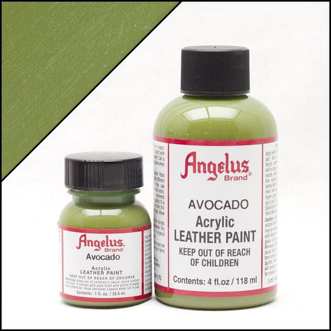 Angelus Leather Paint Avocado Green