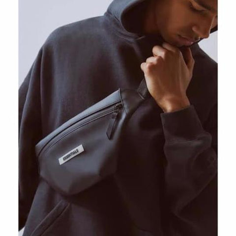 FEAR OF GOD Essentials Waterproof Waist Bag Black
