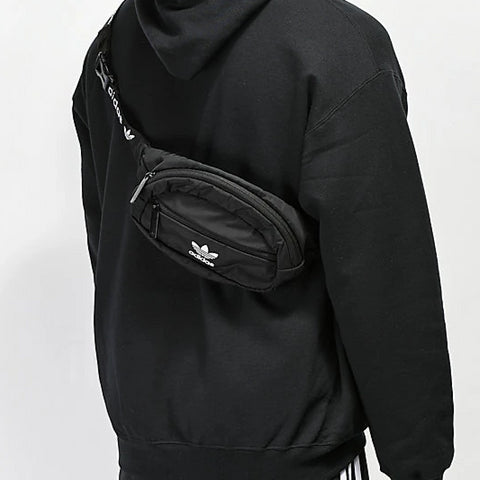 Head Porter Japan Black Camo Waist Bag