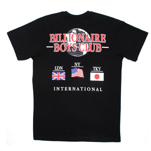 Billionaire Boys Club International Tee - Black