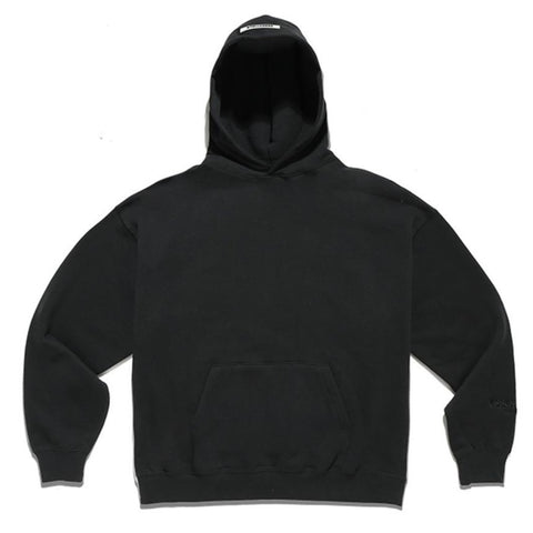 FEAR OF GOD Essentials Reflective Logo Los Angeles Hoodie Black (Exclusive)