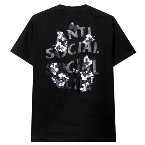 Anti Social Social Club Dramatic Kkoch Black Tee