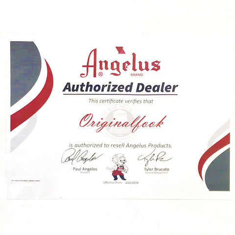 Angelus Jet Black Leather Dye