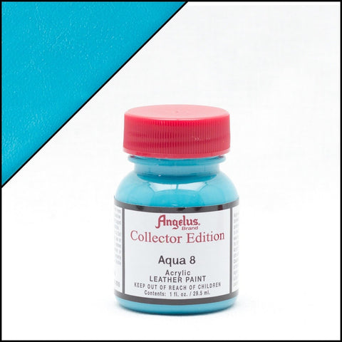 Angelus Leather Paint Collector Edition Aqua 8