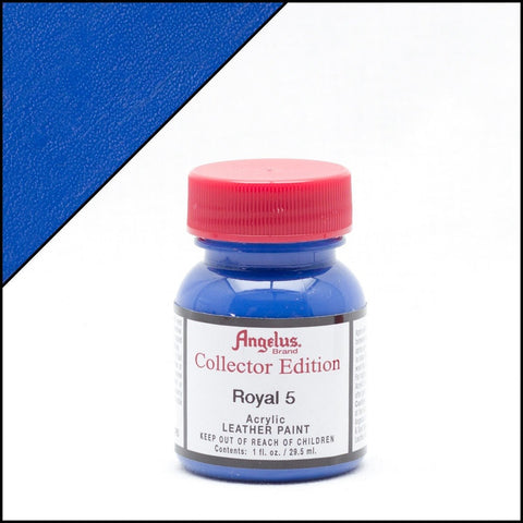 Angelus Leather Paint Collector Edition Royal 5