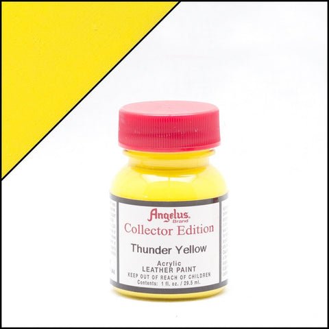 Angelus Leather Paint Collector Edition Thunder Yellow
