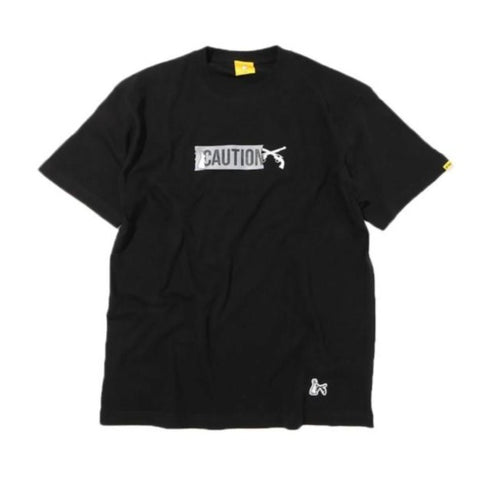 FR2 JAPAN X ROARGUNS Danger Tee Black