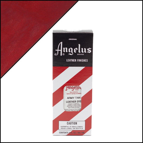 Angelus Coffee Leather Dye