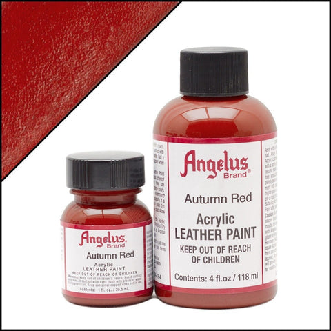 Angelus Leather Paint Autumn Red