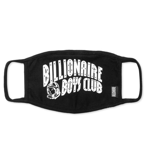 Billionaire Boys Club BB Arch Logo Face Mask Black