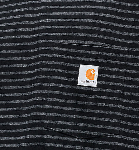 Carhartt Workwear Pocket Tee Black Stripe