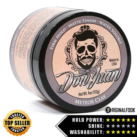 Don Juan Meteor Clay Pomade 4oz