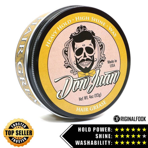 Don Juan Hair Grease Pomade 4oz