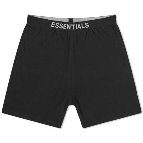 FEAR OF GOD Essentials Lounge Shorts Black