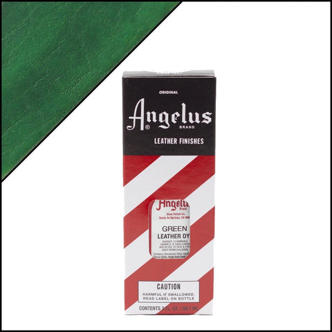Angelus Green Leather Dye