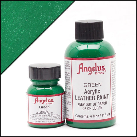 Angelus Leather Shoe Paint (Green)