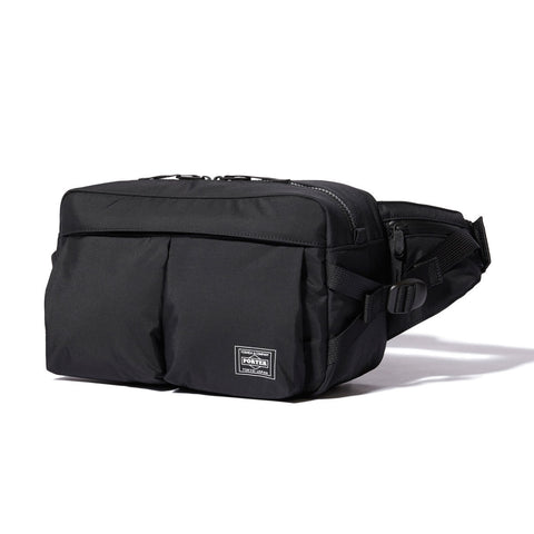 Head Porter Japan Black Yukon Waist Bag