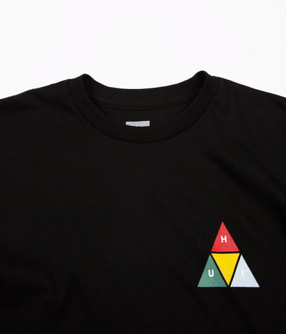 HUF Prism Triangle Tee Black