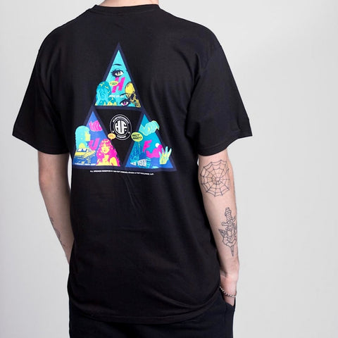 HUF Comics TT Tee Black