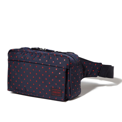 Head Porter Japan Stellar Medium Waist Bag Navy