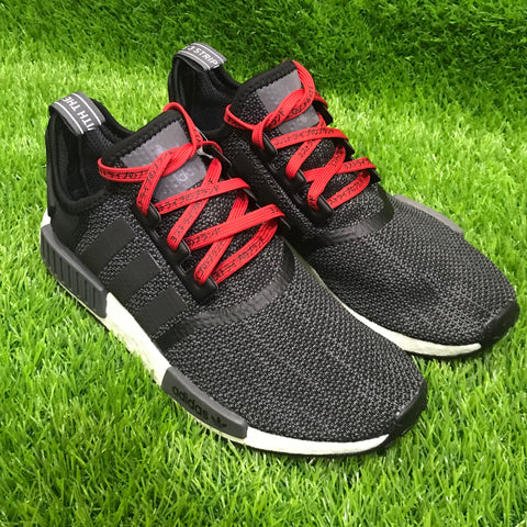 Japanese Katakana Shoelaces NMD Ultra boost Red/Black