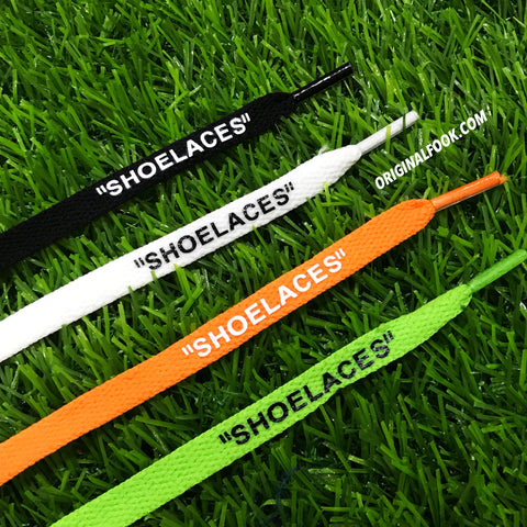 SHOELACES Off White Replacement Shoelaces Bundle Pack (X4 Pair)