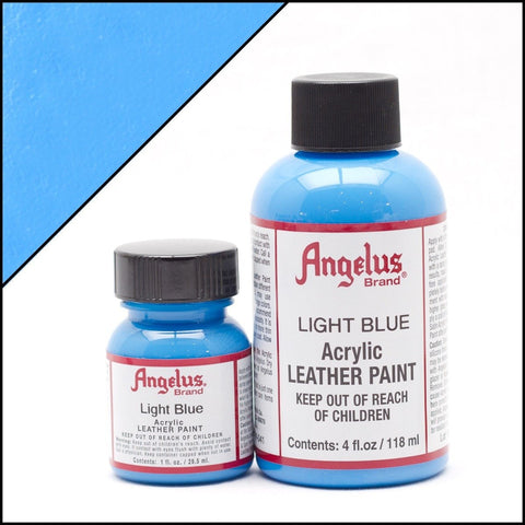Angelus Leather Shoe Paint (Light Blue)