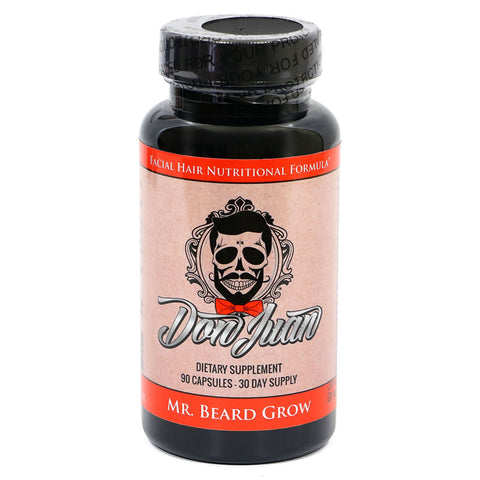 Don Juan Mr. Beard Grow Facial Hair Enhancer Formula
