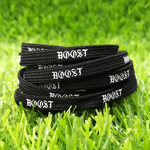 """Boost"" Shoelaces For NMD/Ultraboost Black"
