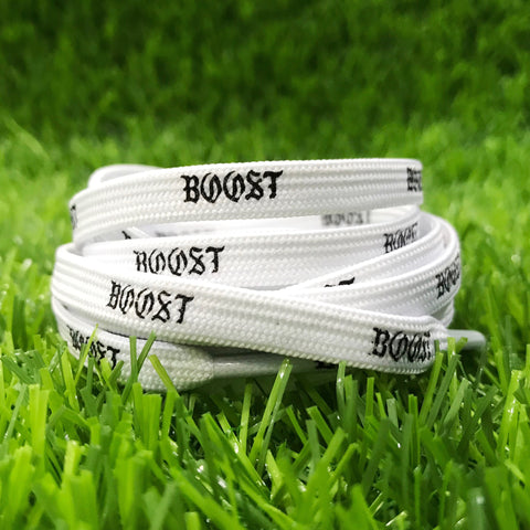 """Boost"" Shoelaces For NMD/Ultraboost White"
