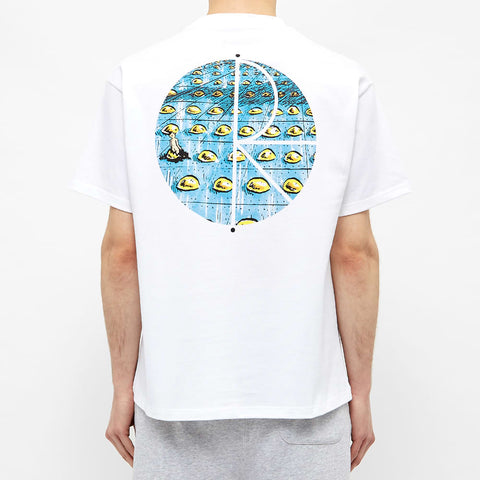 Polar Skate & Co Dragon's Nest Fill Logo Tee White