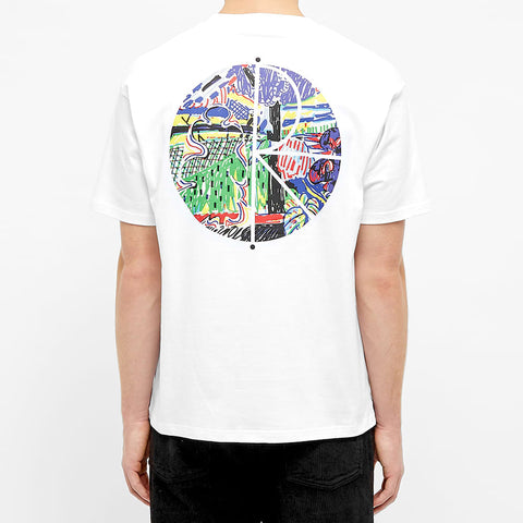 Polar Skate & Co Garden Fill Logo Tee White