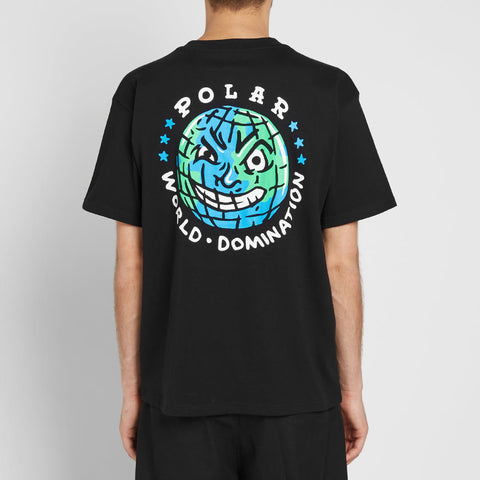 Polar Skate & Co P.W.D Tee Black