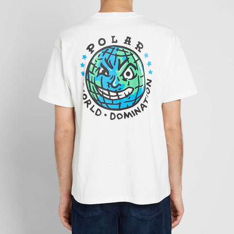 Polar Skate & Co P.W.D Tee White
