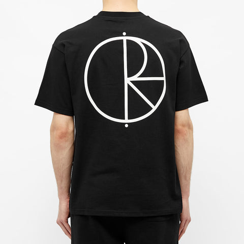 Polar Skate & Co Stroke Logo Tee Black