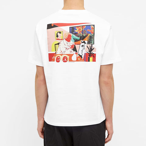 Polar Skate & Co The Artist Tee White