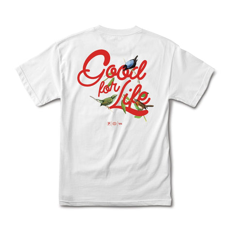 PRIMITIVE Native Good For Life Tee White