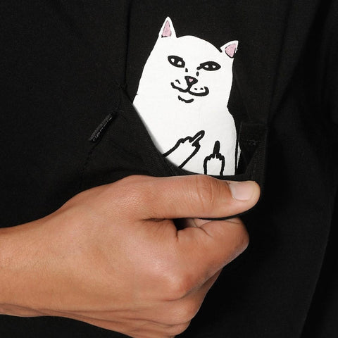 RIPNDIP Lord Normal Pocket T-shirt Black