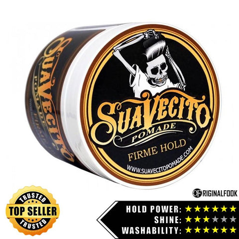 Suavecito Firm Hold Strong Hold Pomade 4oz