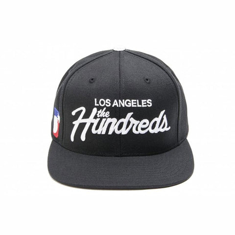 The Hundreds SP17 Forever Team Snapback (Black)