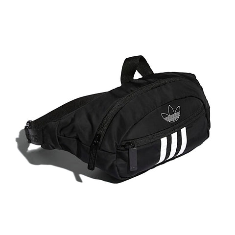 Adidas National 3 Stripes Waist Pack Black