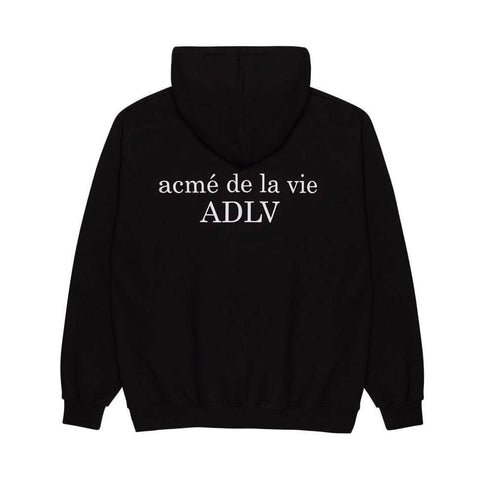 ADLV Baby Face Donut 6 Hoodie Black