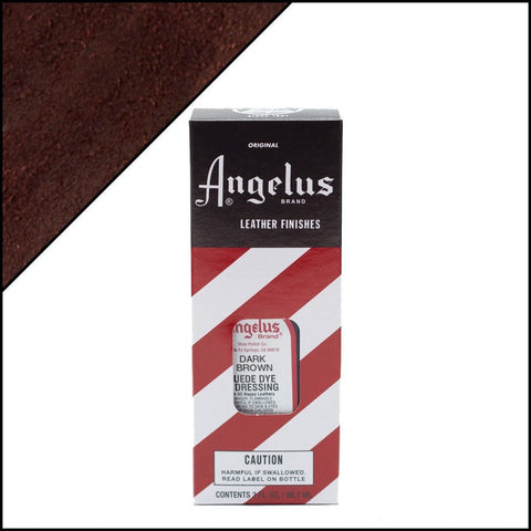 Angelus Suede Dye Dark Brown
