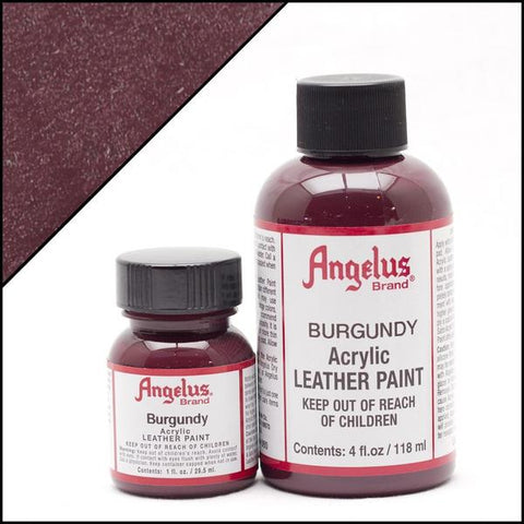Angelus Leather Paint Burgundy