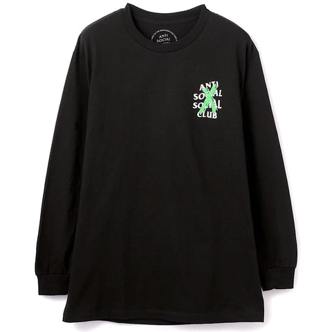 Anti Social Social Club Cancelled Remix L/S Black Tee