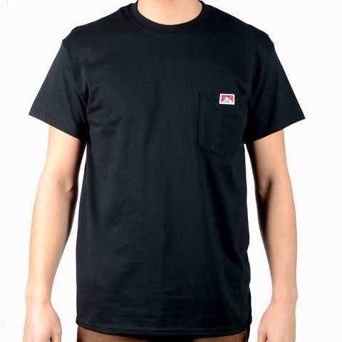 BEN DAVIS Signature Pocket Tee Black