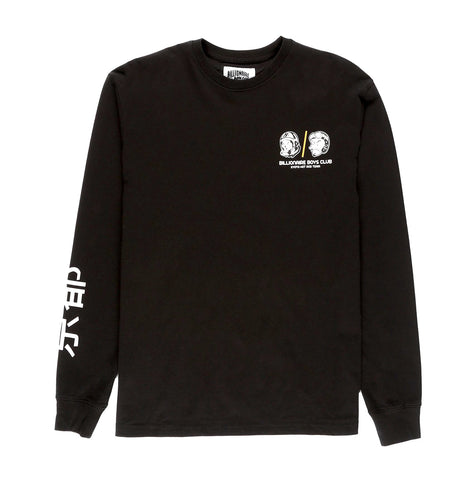 Billionaire Boys Club BB Hot Rod L/S Tee Black